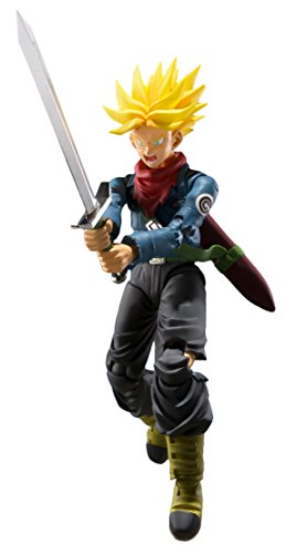 Bandai Trunks Future Figure 14 Cm Dragon Ball Super SH Figuarts, (BDIDB551313)
