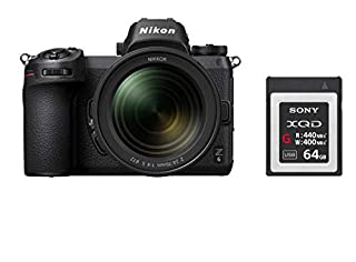Nikon Hybride Z6 avec Objectif Z 24-70 mm f/4 S + Carte 64GB XQD (B07X2XVKKZ) | Amazon price tracker / tracking, Amazon price history charts, Amazon price watches, Amazon price drop alerts