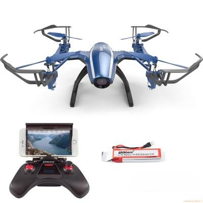 Peregrine U28W Wifi FPV Drone 2.4Ghz 4CH Headless Höhen-Give something net of b off RC Quadcopter mit 120 ° Weitwinkel 720P HD Kamera, iOS u. Androider Telefon-Steuerung