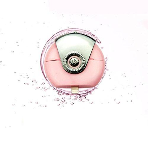 Andrews Version Apple Edition Handy-Luftbefeuchter Wasserzähler Mini-Nano-Spray Wasserzähler portable Handy Wasserversorgung Ausrüstung , Apple - Gesichts-dampfer-maske