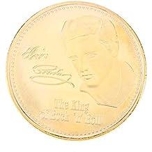 Globeagle Song Dios chapado en oro recuerdo moneda arte colección turismo regalo ...