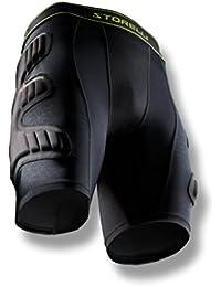 BodyShield Goalkeeper Sliding Shorts - BSGKSHORTBK, M, Negro