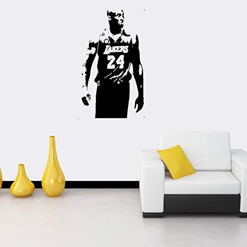 Handaxian Bryant Bryant Basketball Poster für die NBA Lakers Home Decoration Aufkleber Vinylwand sti55 * 95cm