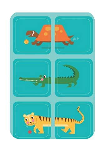 Laufkleber- Schuhaufkleber für Kinder (Zootiere)