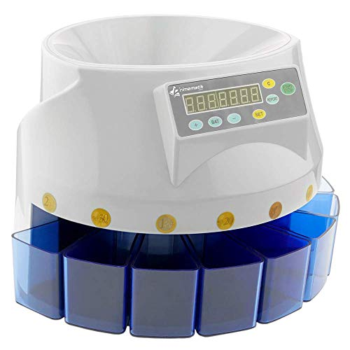 Cablematic DB360 Máquina de clasificación y contador de monedas