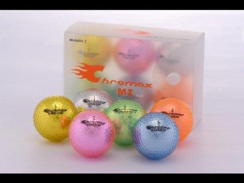 golf-chromax-m1-golf-ball-orange-shiny-6-balls-box