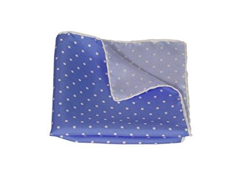 40 Colori - Mouchoir - Homme Multicolore - Light Blue-White