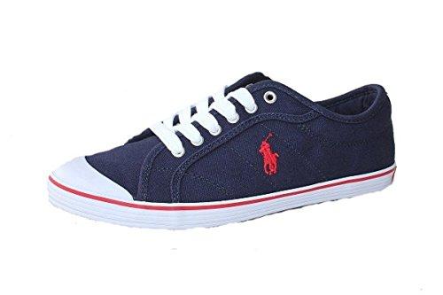 Polo Ralph Lauren U.S Damen Canvas Sneaker Navy (38.5)