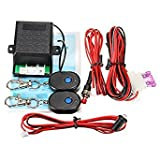 Questquo Universal Car Remote Auto Protection Vehicle Entry Security Burglar System Alarm One Piece