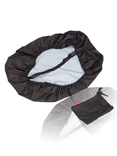 Cosmus 50 Ltrs Black Rain & Dust Black Pack Cover