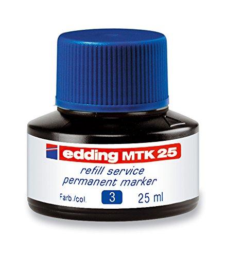 Preisvergleich Produktbild edding Nachfülltinte edding MTK 25 refill service,f.edding Permanentmarker,25 ml,blau