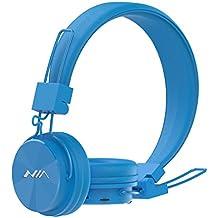 GranVela inalámbrico portátil con Bluetooth auriculares X3Foldable–Auriculares estéreo de diadema con micrófono, FM Radio, microphonerosd reproductor, AUX para iPhone, Samsung Galaxy, Android