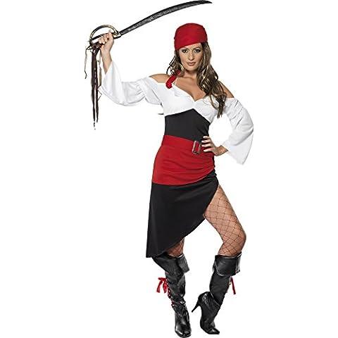 Smiffys - Costume da piratessa, Donna, taglia: (Sexy Del Wench Del Pirata)
