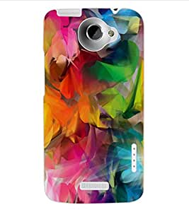 ColourCraft Printed Design Back Case Cover for HTC ONE X