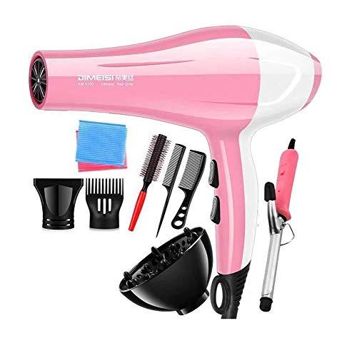 Ion Power Dryer One Step Salon Professional Lightweight Hair 1200W La Temperatura Constante no daña...