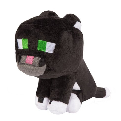 """Tuxedo Cat Plush - Minecraft - 20cm 8"""""""