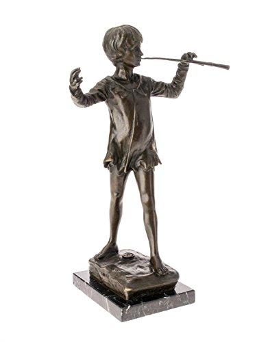 Bronzeskulptur Peter Pan nach George Frampton Bronze Skulptur Figur Replika