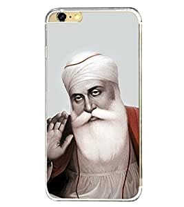 Baba Nanak 2D Hard Polycarbonate Designer Back Case Cover for Apple iPhone 6s Plus :: Apple iPhone 6s+