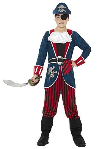 Deluxe Pirate Captain - Kids Costume 7 - 9