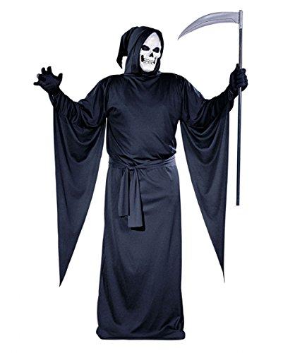 Gevatter Tod / Grim Reaper Kostüm (Reaper Grim Up Make)