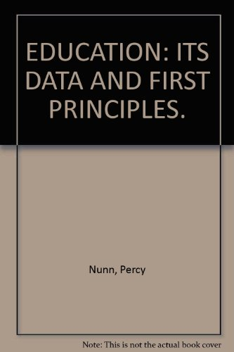 education-its-data-and-first-principles