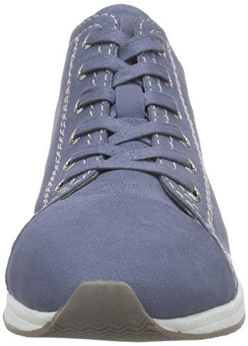 bugatti J78045g Damen High-Top Blau (jeans 455)
