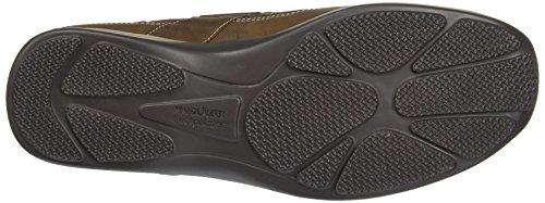 Waldläufer Herko 526001 Ama191 026, Chaussures basses homme Braun (Tabak)
