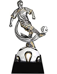 Macho de fútbol (Fútbol) Motion X Resina trofeo Premio (Futbol) Boy