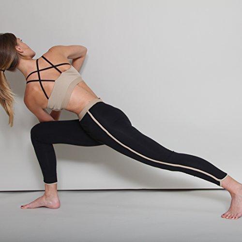 Prancing Leopard Damen Yoga Leggings