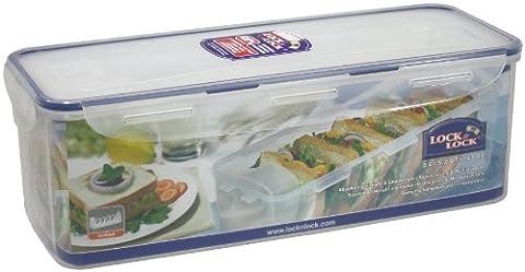 HPL849T &Lock Lock Boîte à Pain rectangulaire alimentaire Sandwich détenteur w/5 l