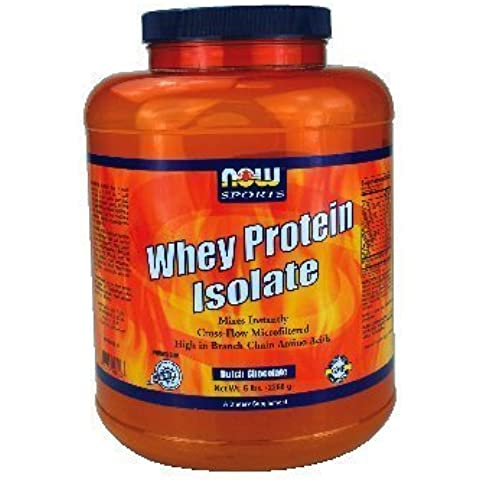Now Foods Whey Protein Isolate Chocolate - 5 lbs. 3