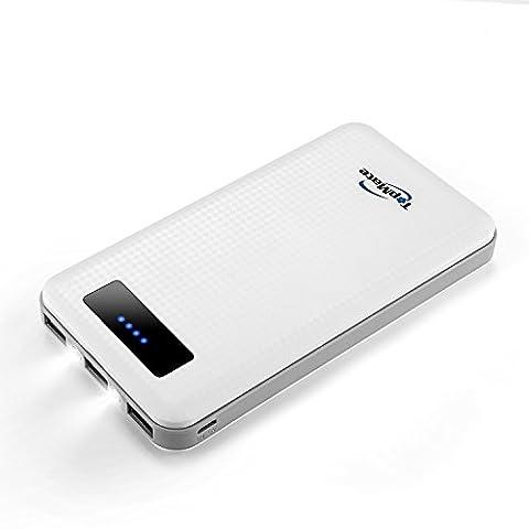 Chargeur De Secours Iphone - Topmate 20000mah Batterie Externe 3 Ports USB