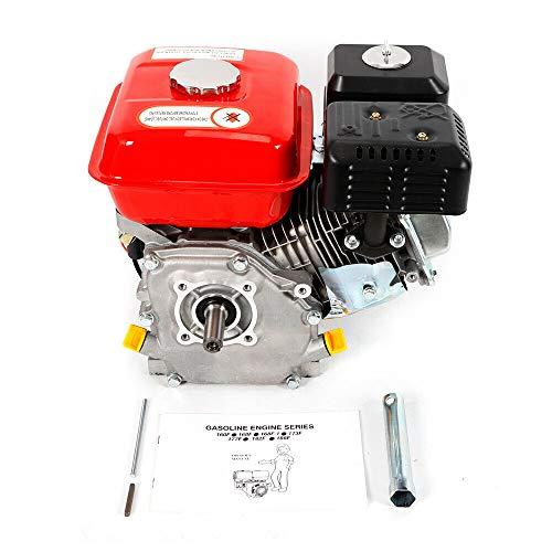 YIYIBY Benzinmotor Standmotor Kartmotor Motor 7,5 HP 5.1 KW Pumpen und Boote 4-Takt-Motor mit 6,5 PS