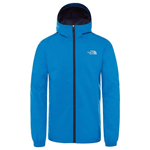 THE NORTH FACE Herren Quest Jacke Bomber Blue Black Heather, XL