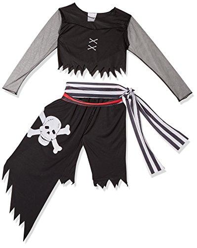 Le Corsaire Kostüm - Lachen und Confetti-fibpir029-Kostüm für Erwachsene-Kostüm Corsaire Totenkopf-Damen-Größe M