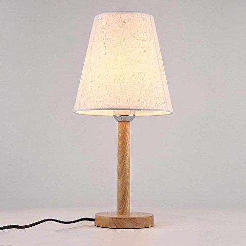 ... Licht E27 Lichtquelle Schnittstelle, Beige Lampenschirm, Lesen Der  Schlafzimmer Nachttischlampe Nordischen Stil 110 V 240 V Spannung ,Dimmerschalter