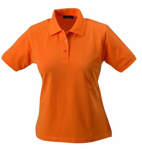 James & Nicholson - Polo - Maternité - Col Polo Femme Orange (orange)