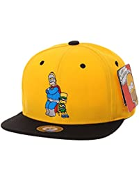 bdd6d4a6526 WITHMOONS The Simpsons Baseball Cap Superman Snapback Hat HL2657