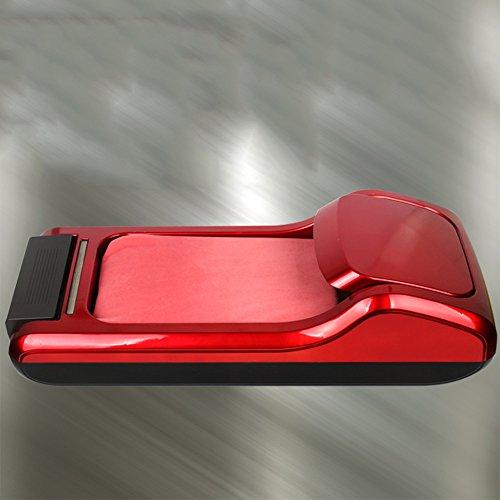 ZZHF Machine de couverture de chaussure Machine de couverture de chaussure en bois massif automatique Machine de pied Machine de pied de film de pied Machine de couverture de chaussure jetable Rouge / argent / or / gris / rose 65 * 19 * 30cm Cireuse ( Couleur : Rouge )