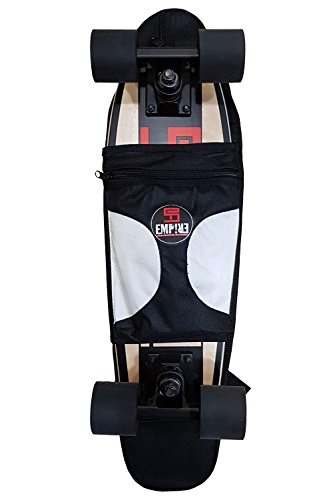 "Empire Skateboard Carry Bag | Cruiser Tasche 22 ""x 6 Unisex Kinder, schwarz"