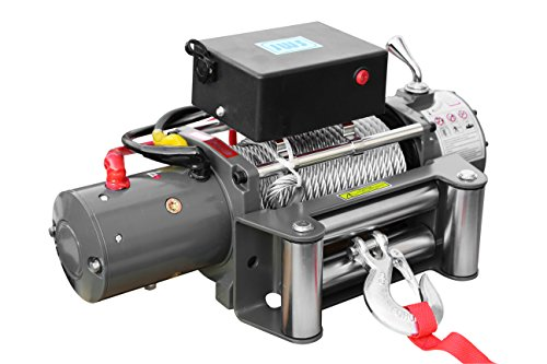Elektrische Seilwinde Winde 5900Kg 12 Volt mit Stahlseil