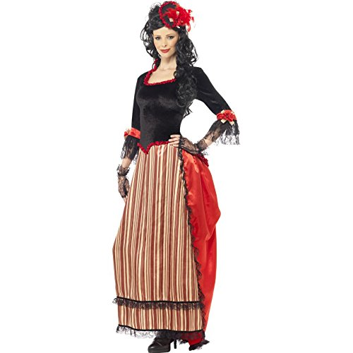SMIFFYS Authentic Western Town Sweetheart Costume Donna Fancy Dress