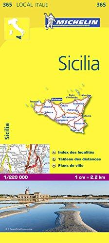 Carte LOCALE Sicilia par Collectif Michelin