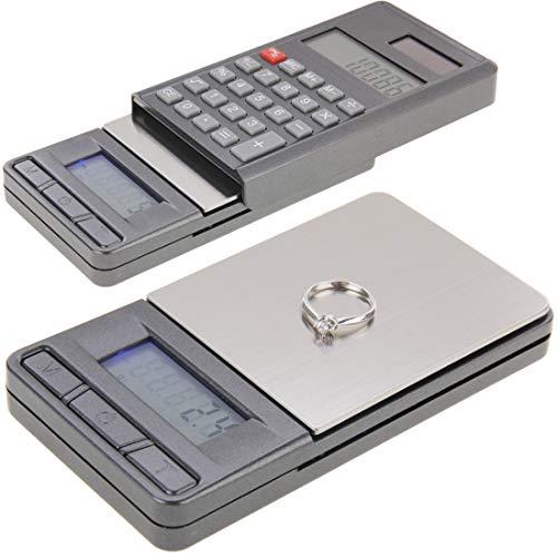 Waagen baggies 0.01g Taschenwaage Digitalwaage Verkaufen Sie gut 2 in 1-elektronischen Taschen 1000g x 0.1g Schmucksache-Digital-Skala-Balance + Rechner mit Digits LCD Display
