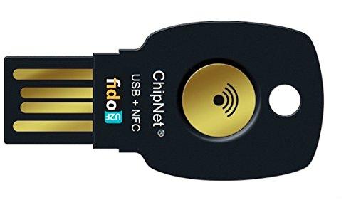 ChipNet FIDO U2F - Llave de Seguridad para Verificación en 2 Pasos -