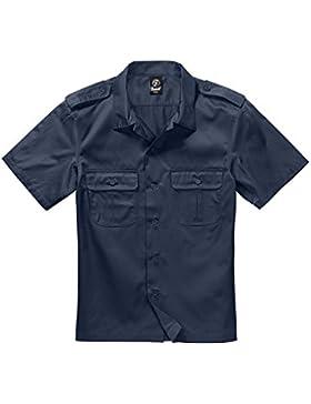 Brandit Herren Hemd US kurzarm, Farbe:navy;Größe:6XL