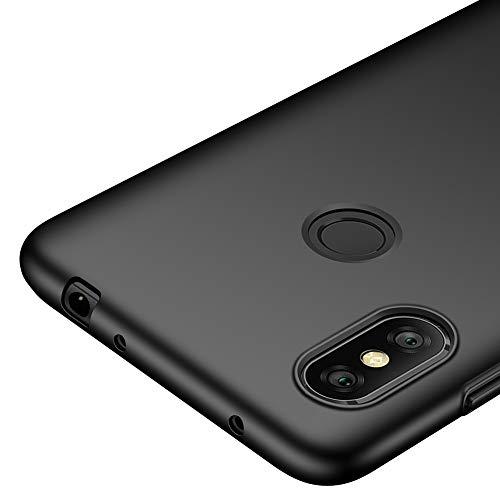 "Richgle Tampa Xiaomi redmi Notas 6 PRO (6.26 ""), preta fina Ultra Case plástico capa protetora para Xiaomi redmi Notas 6 PRO (6.26"") RG00221"