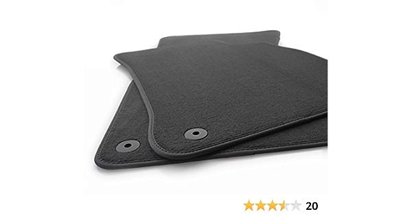Kh Teile Fußmatten Passend Für A6 S6 Rs6 C6 4f Premium Qualität Autoteppich Velours Anthrazit 2 Teilig Auto