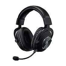 Logitech G PRO X (2e generatie) gaming-headset (met Blue VO!CE, DTS headphone: X 7.1 en PRO-G 50 mm luidsprekers, voor PC, PS4, Switch, Xbox One, VR) zwart