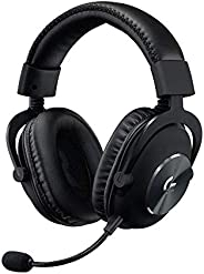 Logitech G PRO X Gaming Headset 2nd Generation, Detachable Pro-Grade Microphone, Blue VO!CE, DTS Headphone:X 7